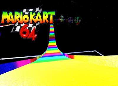 Mario Kart 64 Rainbow Road Track Info Tm2 Maniaexchange